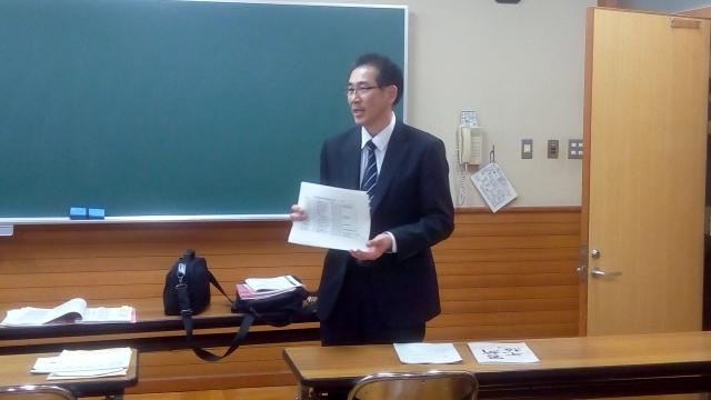 記念誌編集委員長 小林俊一郎君