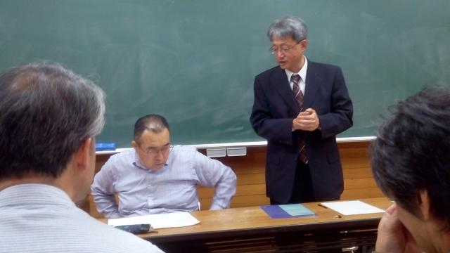 副実行委員長(守屋 久君)の開会の辞