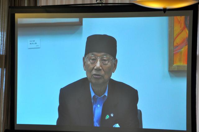 韮高OBの大村さんからビデオメッセージをいただきました。